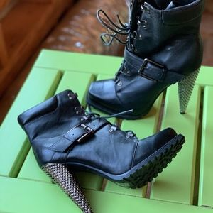 Jessica Simpson Military Boots